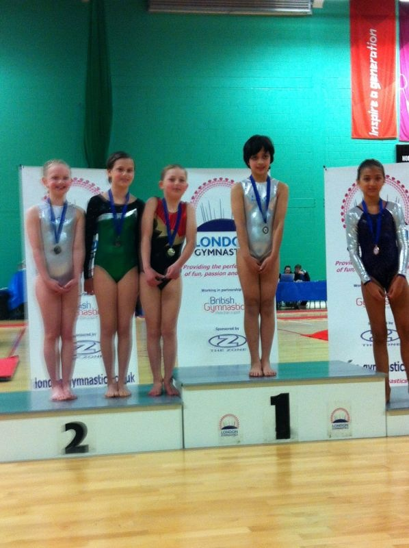Quynh on the podium