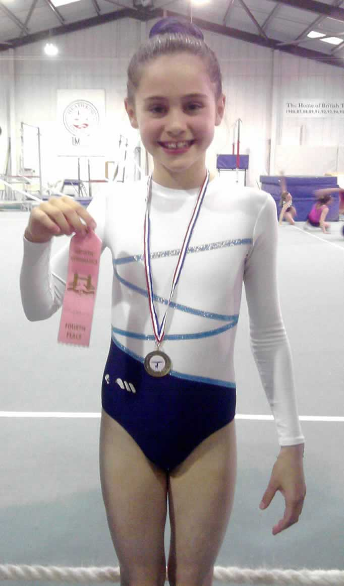 Jasmine with Gold Medal for Floor