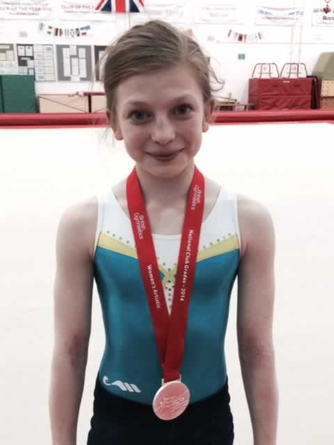 Jodi with her Silver Medal