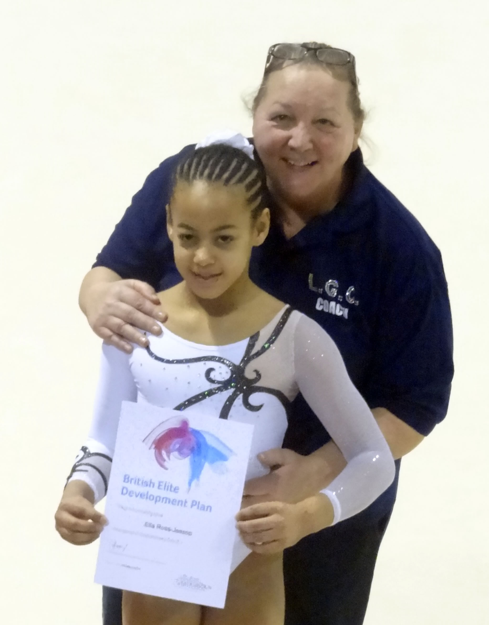 Ella and Coach Shirley